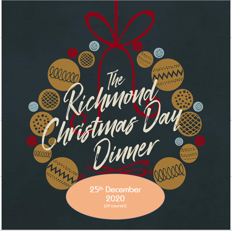 welcome to the richmond christmas day dinner 2020